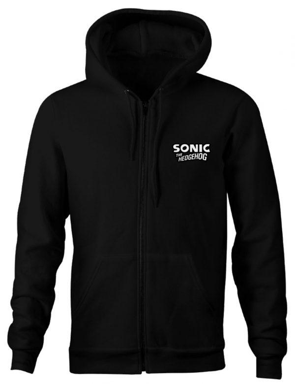 Sonic The Hedgehog Black Hoodie