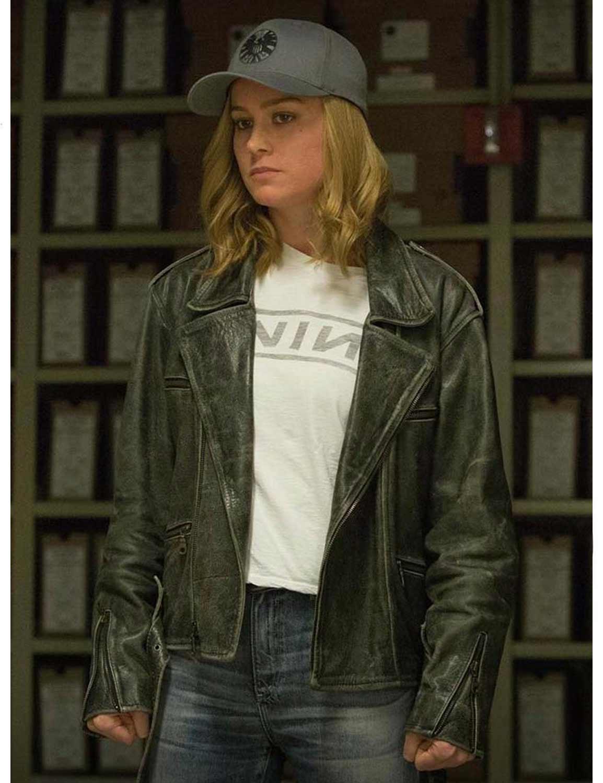 Carol Danvers Biker Jacket