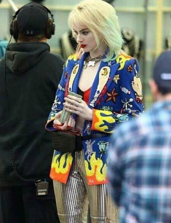 Birds Of Prey Blazer Harley Quinn Margot Robbie Blazer