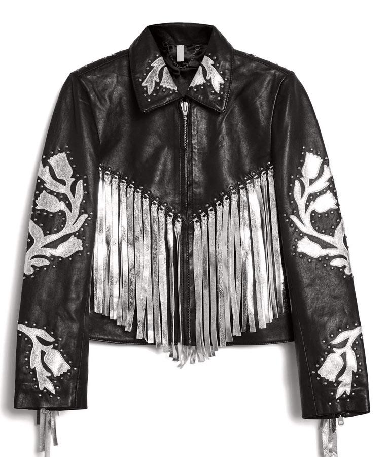 Harley Quinn Fringe Jacket
