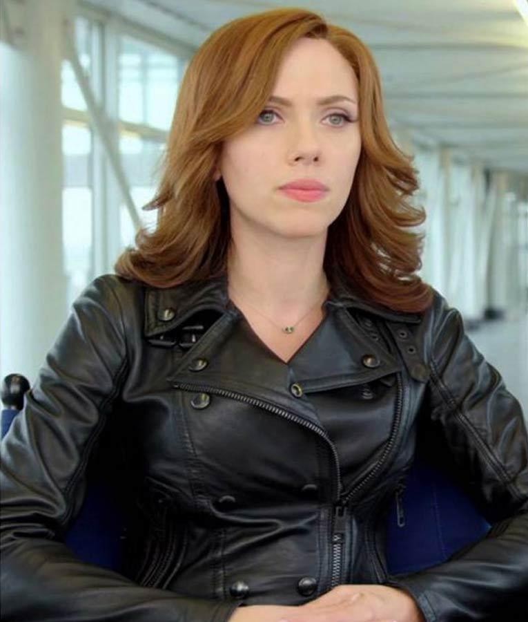 Scarlett Johansson Captain America Civil War Jacket