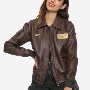 Carol Danvers Flight Bomber Jacket