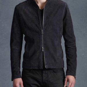 James Bond Suede Black Jacket