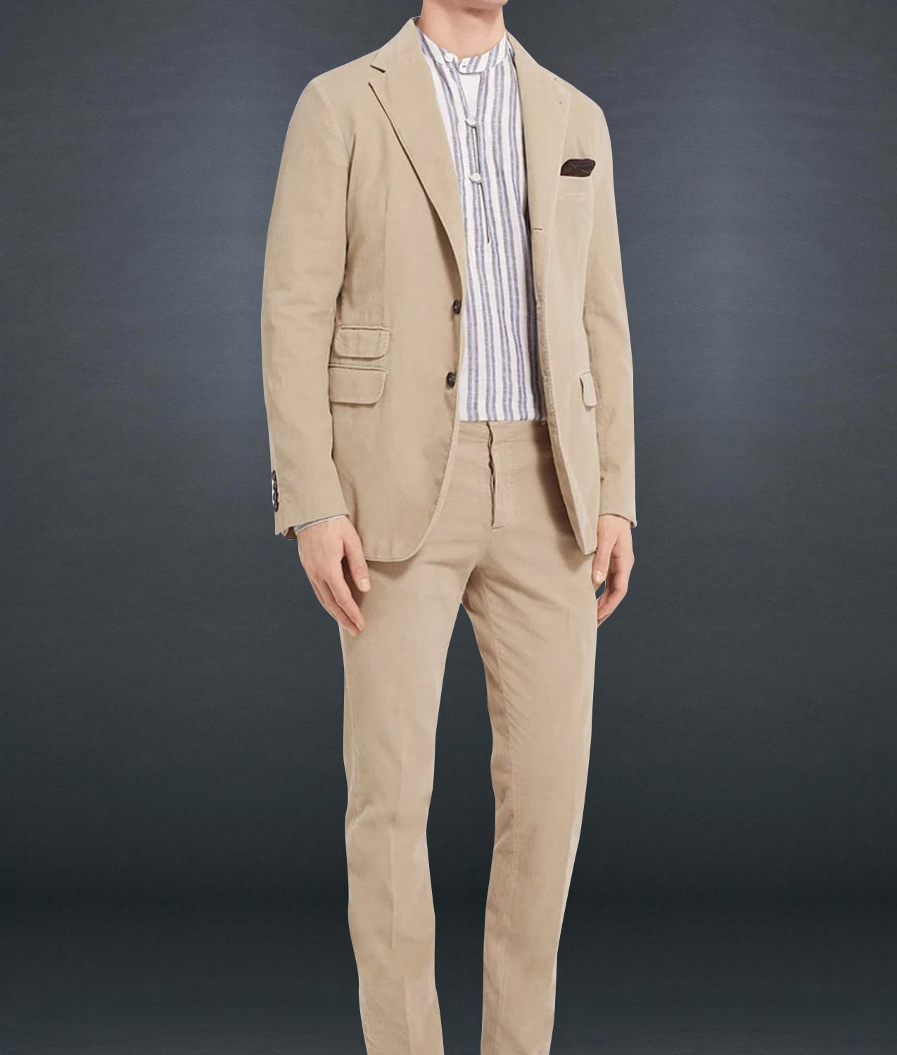 James Bond No Time to Die Matera Brown Suit