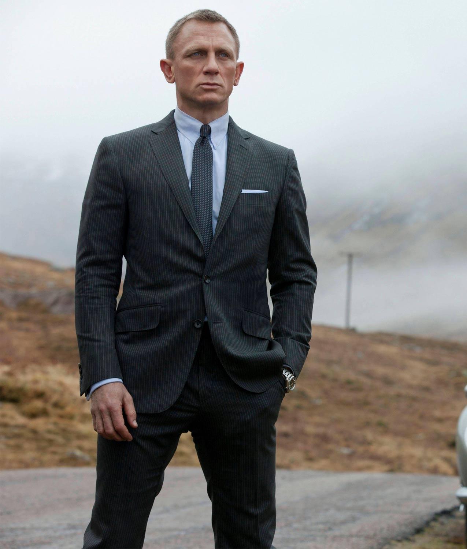James Bond Skyfall Charcoal Grey Suit