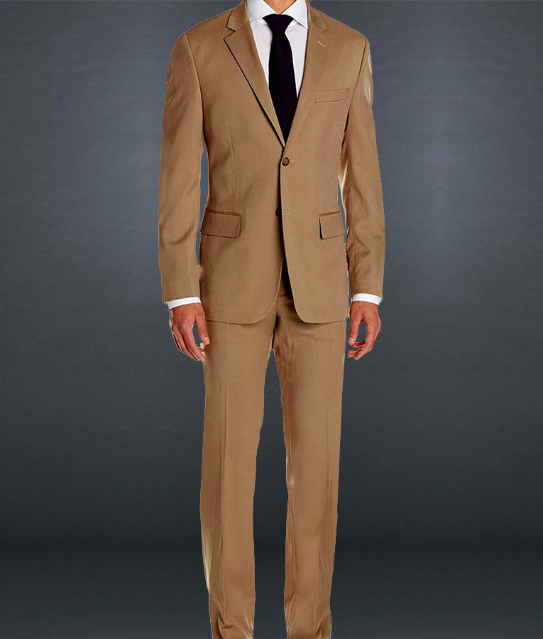 Spectre Brown Suit