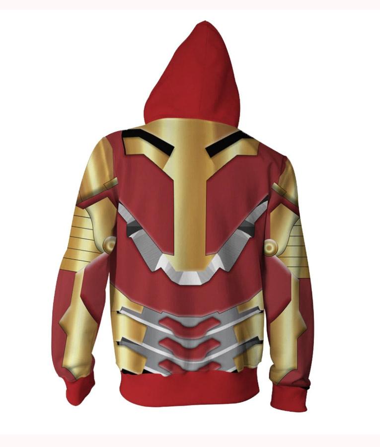 Iron Man 3D Hoodie