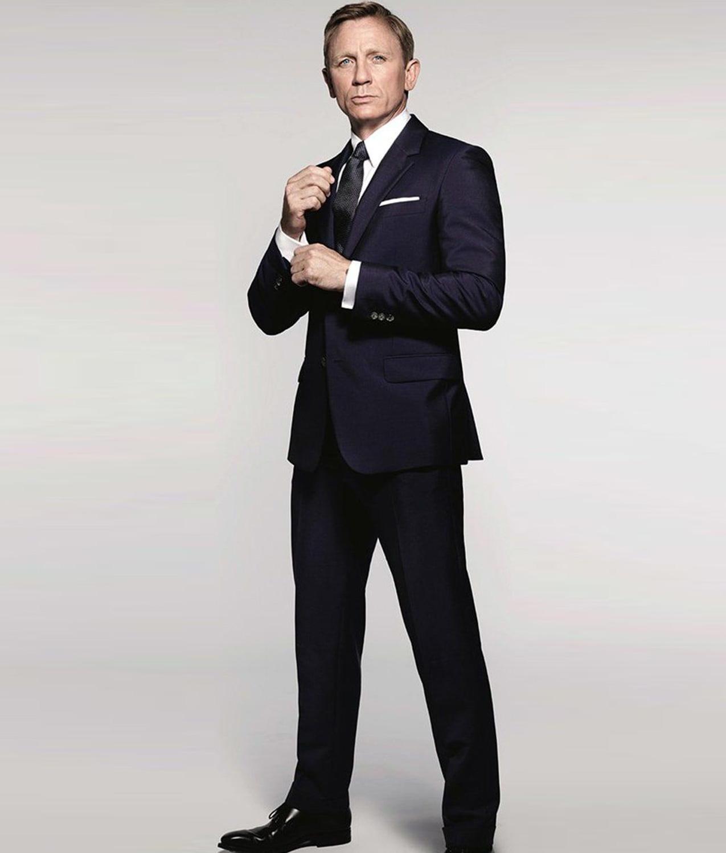 James Bond Spectre Sharkskin Suit