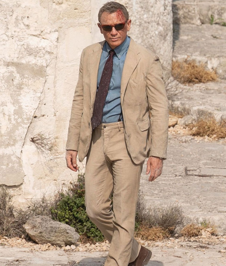 No Time to Die Matera Brown Suit