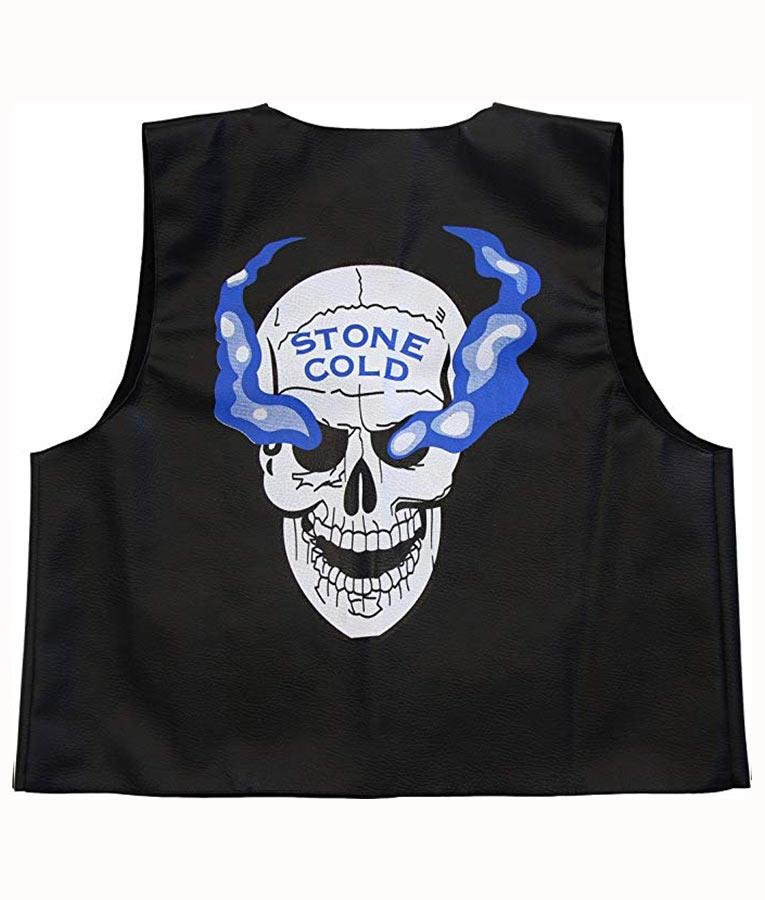 WWE Stone Cold Steve Austin 3:16 Skull Vest