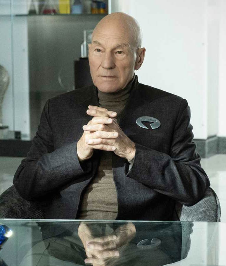 Star Trek Picard Jean-Luc Picard Jacket