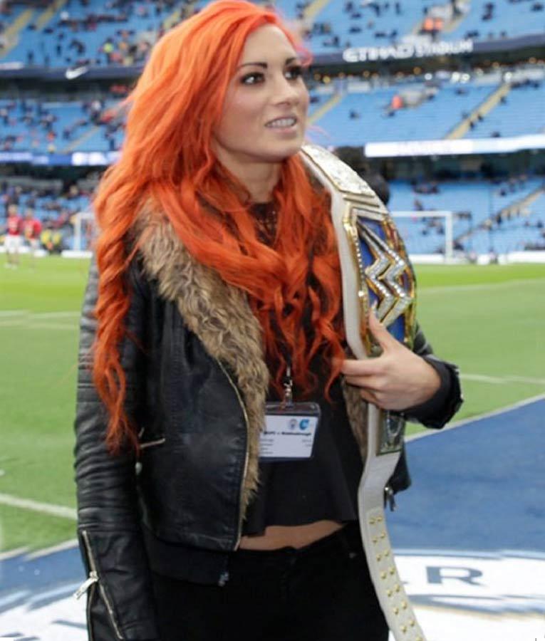 Becky Lynch Fur Jacket