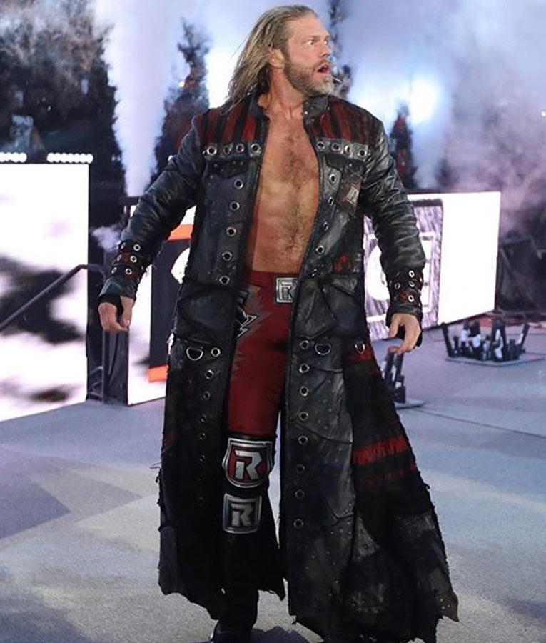 WWE Edge Royal Rumble Coat