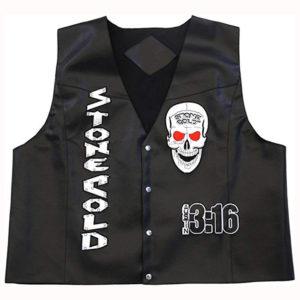 Stone Cold Steve Austin 3:16 Skull Vest