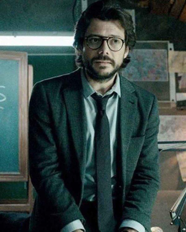 Money Heist El Professor Blazer