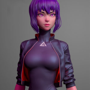 Ghost In The Shell SAC_2045 Jacket