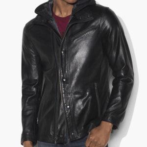 Arrow John Diggle Black Jacket