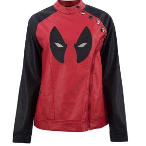 Deadpool Eye Logo Womens Jacket