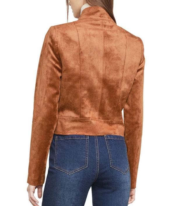 Dinah Drake Suede Jacket