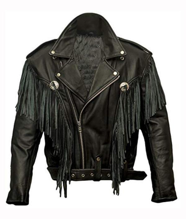 Money Heist Fringe Jacket