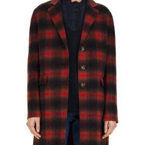 Dex Parios Plaid Coat