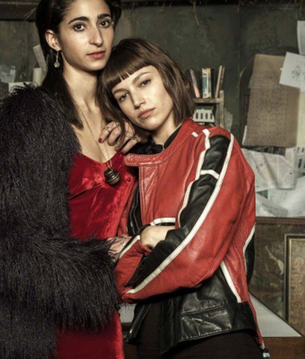 Alba Flores Black Fur Jacket