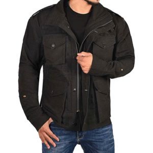 Daredevil M-65 Field Black Cotton Frank Castle Jacket