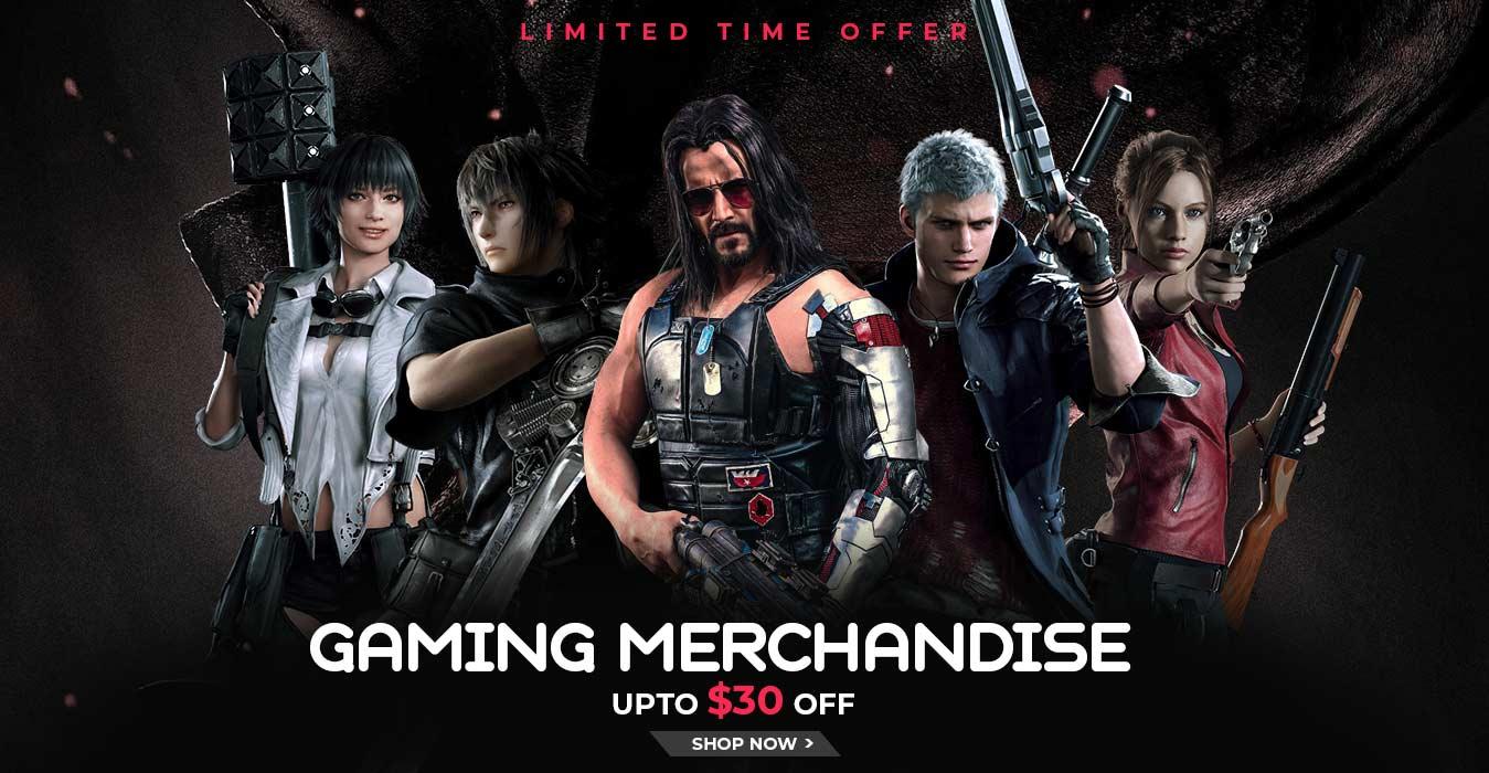 gaming-merchandies