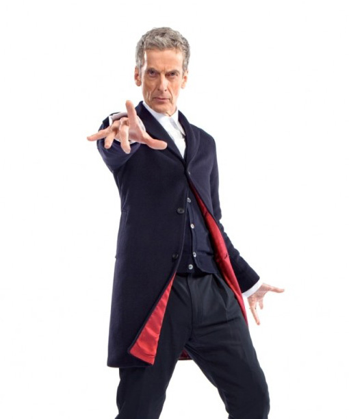 12th Doctor Who Blue Coat