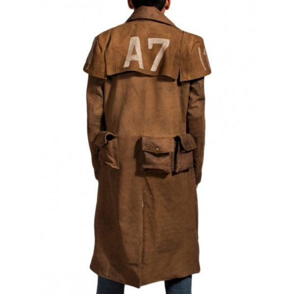 Veteran Leather Coat
