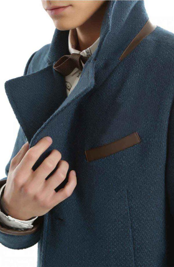Eddie Redmayne Blue Coat