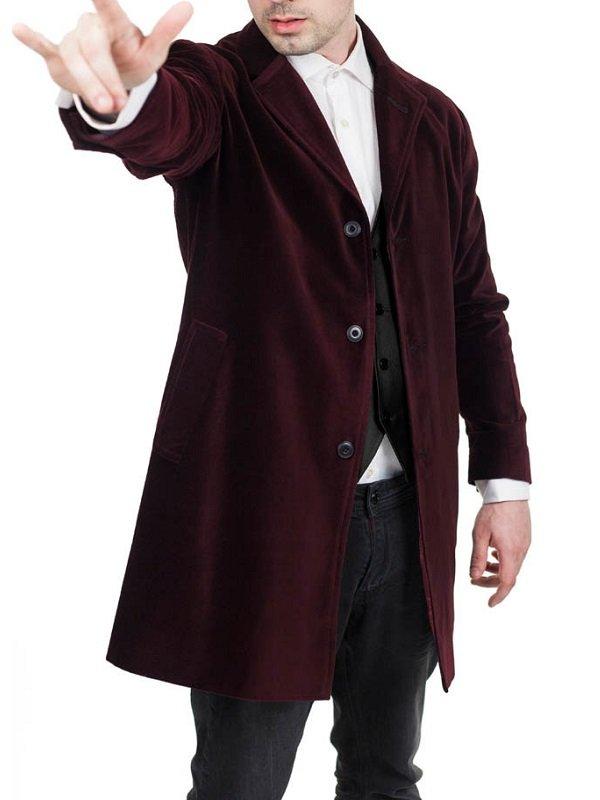 Velvet Maroon Coat
