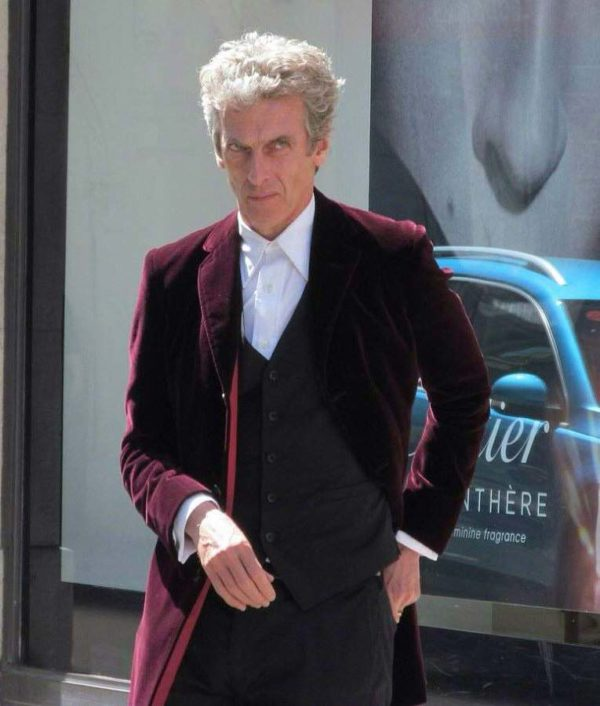 12th Doctor Who Maroon Coat