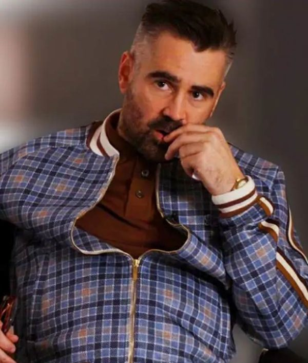 Colin Farrell Checkered Suit