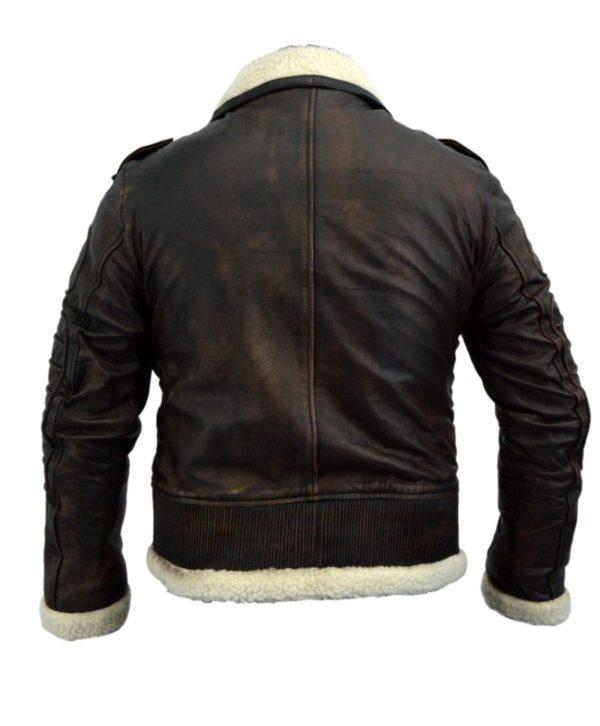 Brown Fur Lined Jacket