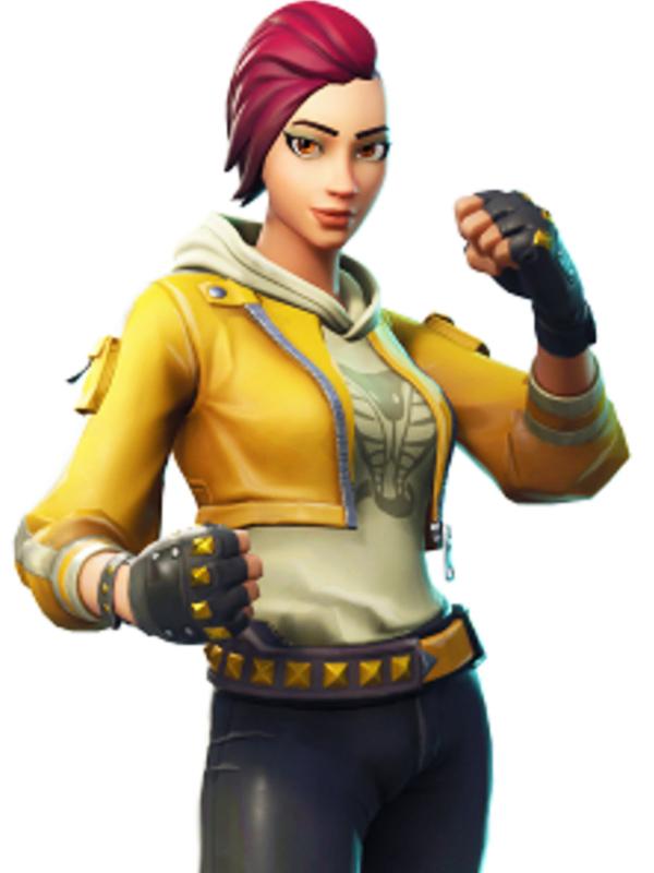 Fortnite Yellow Gaming Jacket