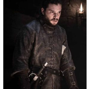 Game of Thrones Season 8 Jon Snow Coat