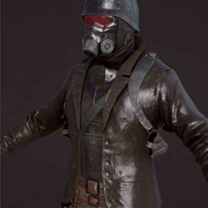 Fallout 4 Scavenged NCR Armor Jacket