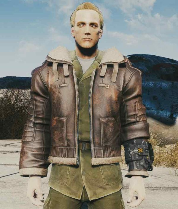 Fallout 4 Armor Brown Jacket