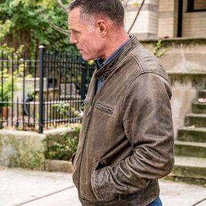 Hank Voight Leather Jacket