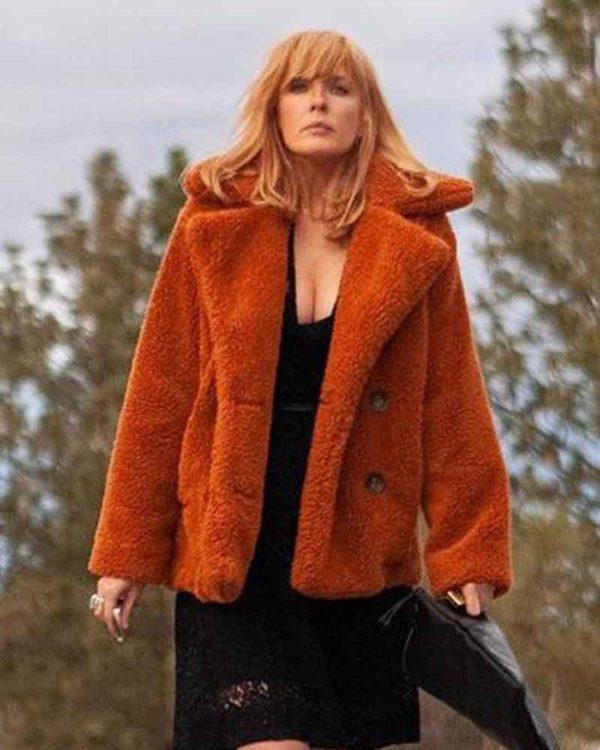Yellowstone Beth Dutton Fur Coat