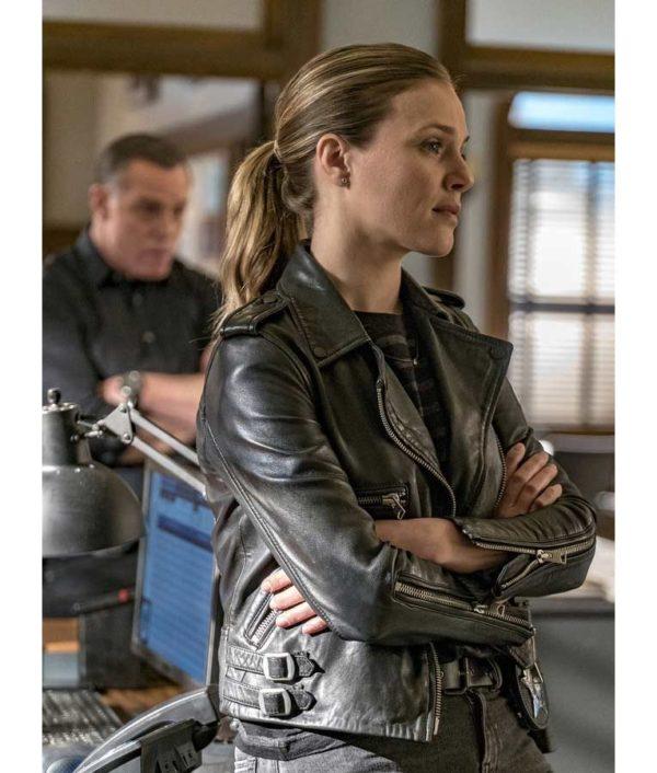 Hailey Upton Leather Jacket