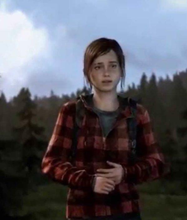 The Last Of Us Part II Ellie Flannel Hoodie