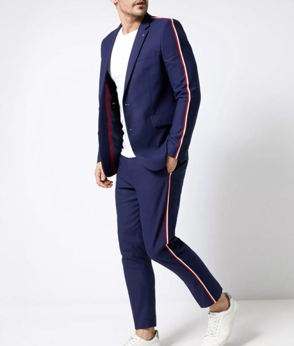 Elite S03 Guzmán Side Stripe Suit