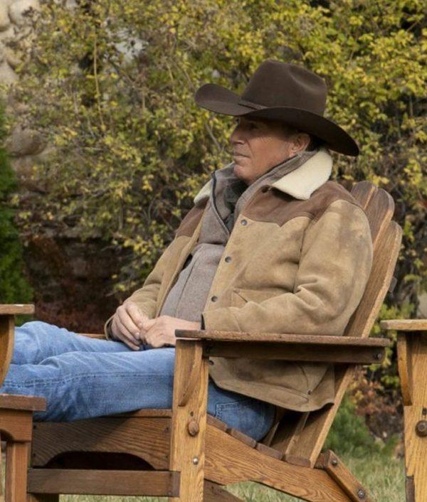 Yellowstone Season 3 Shearling Jacket