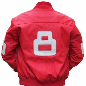 8 Ball Pink Bomber Jacket
