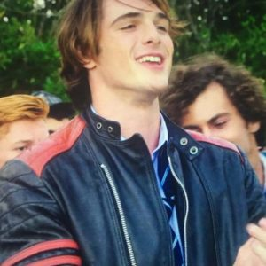 Jacob Elordi The Kissing Booth Leather Jacket