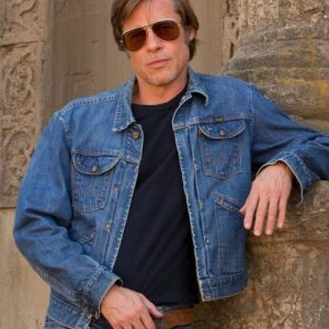 Once Upon A Time In Hollywood Brad Pitt Cliff Booth Jacket