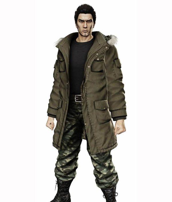Taiga Saejima Yakuza 5 Parka Jacket
