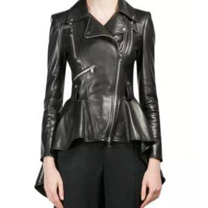 Clarke Griffon The 100 S07 Black Leather Jacket